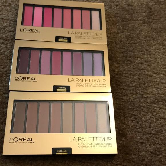 L'Oreal Other - L'Oréal la palette NWT